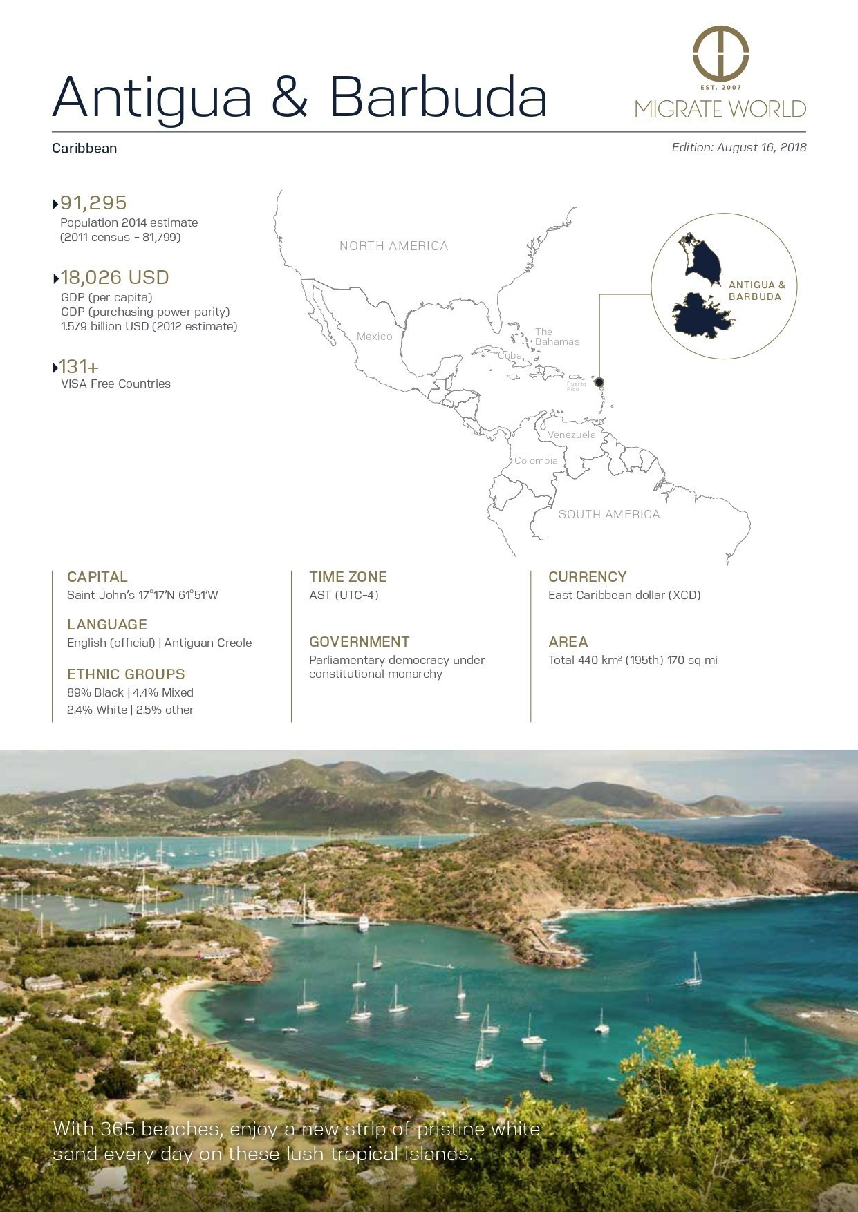 Antigua & Barbuda Program Brochure