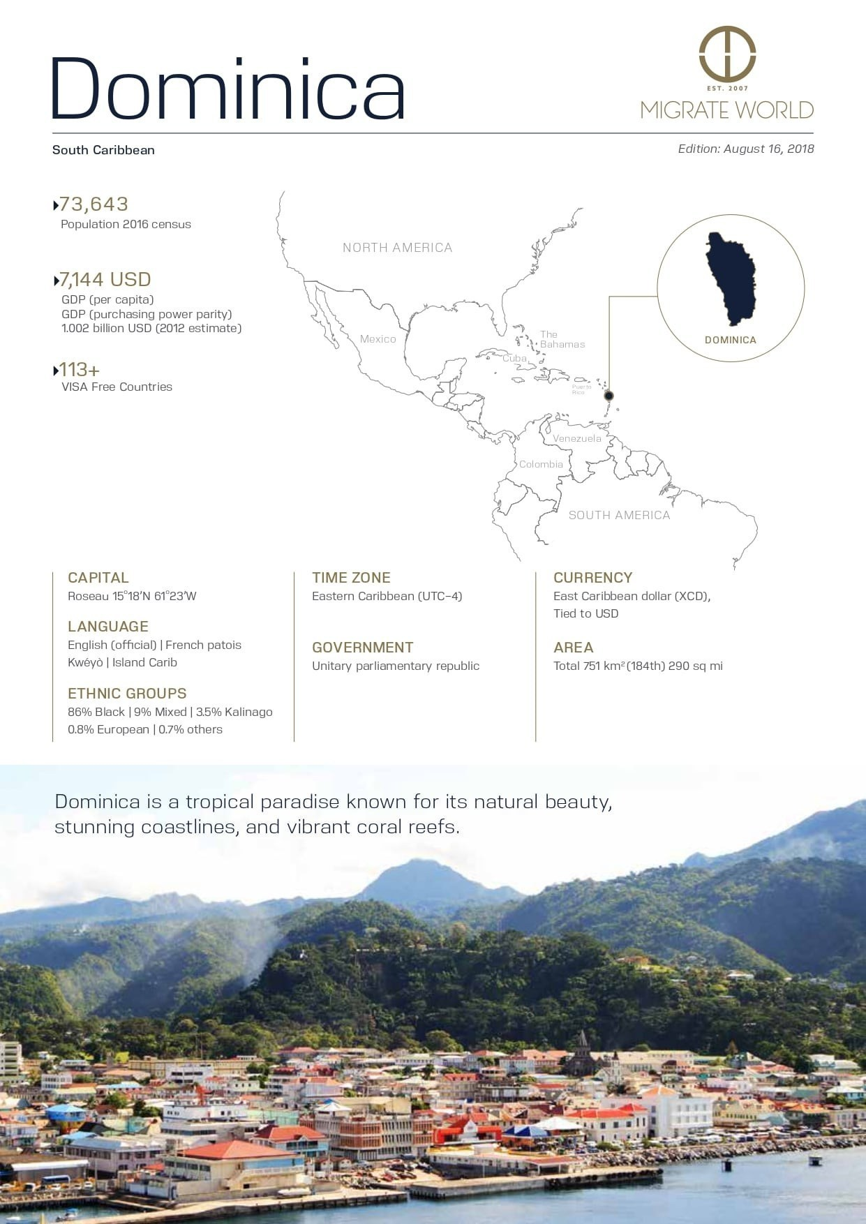 Dominica Program Brochure