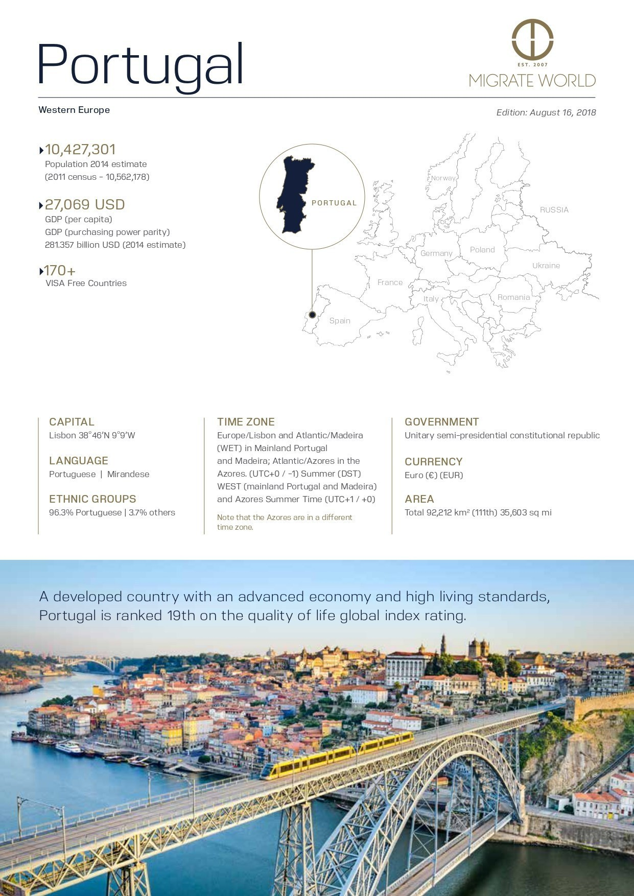 Portugal Program Brochure