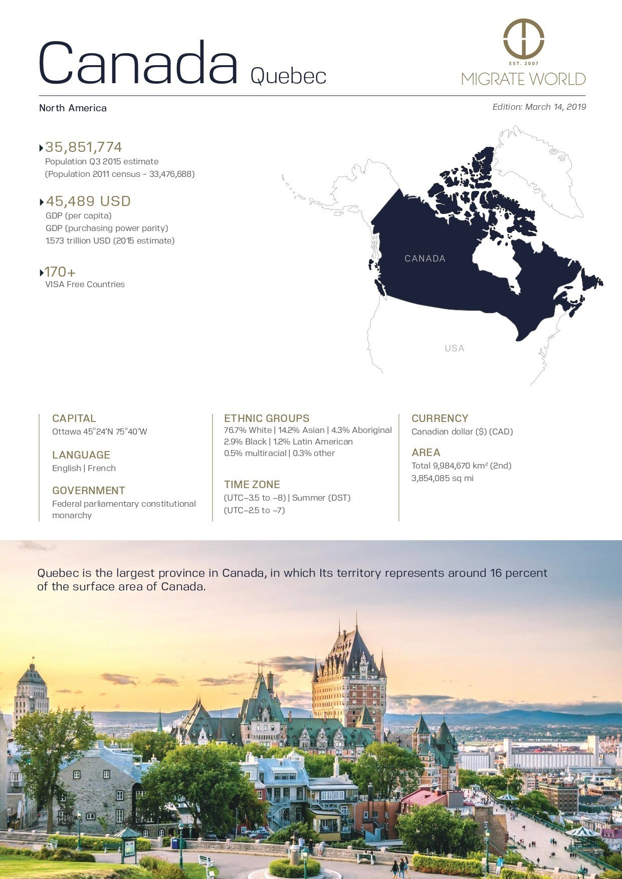 Quebec Program Brochure
